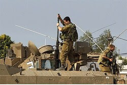 IDF preparations for attack.