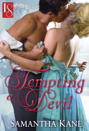 Tempting a Devil: A Loveswept Historical Romance by Samantha Kane