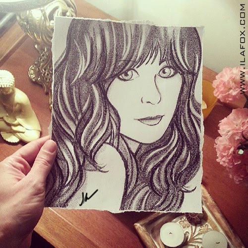 retrato personalizado, retrato giz, retrato bonito, retrato encomenda, by ila fox