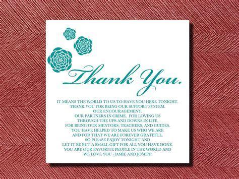 Thank You Card Wedding Money   Shilohmidwifery.com