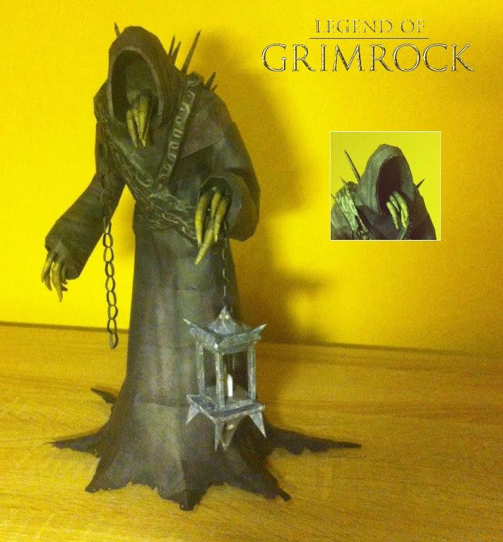 Legend of Grimrock Papercraft Goromorg