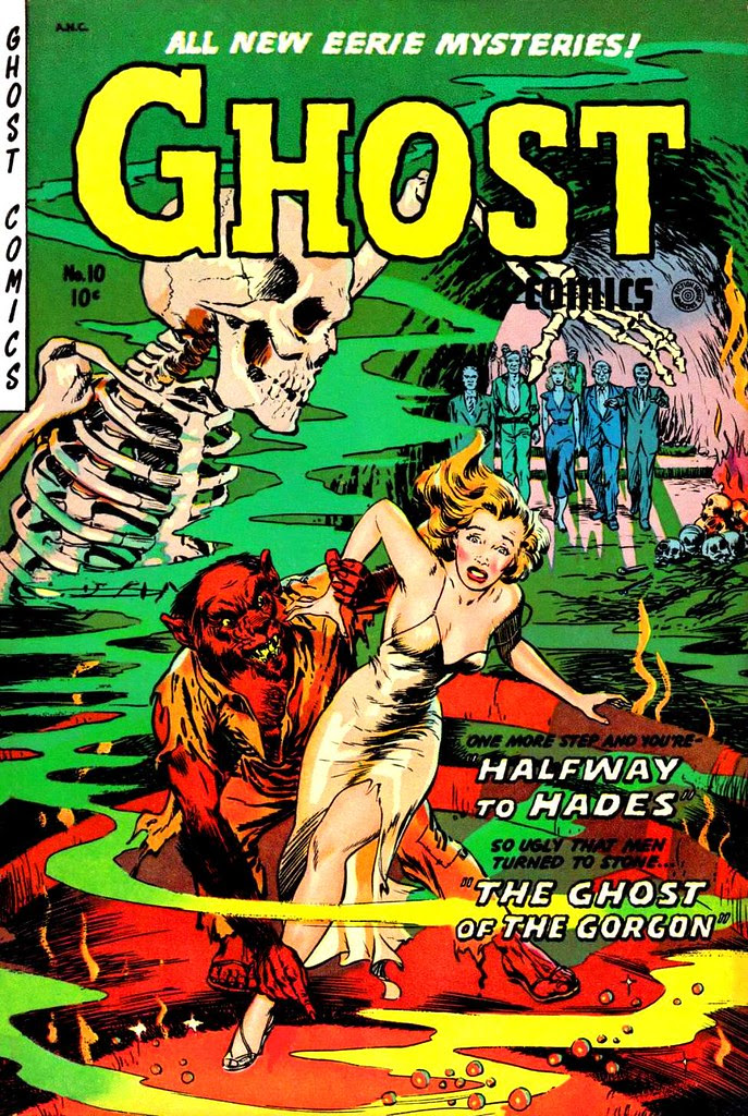 Ghost Comics 10 Fiction House 1954