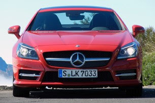 2012 Mercedes-Benz SLK front view
