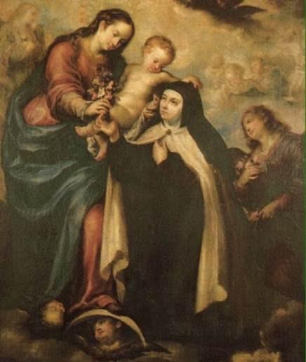 Santa Teresa De Jesús Nos Habla De La Virgen María