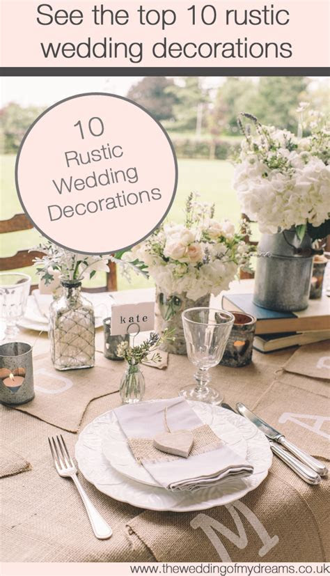 hessian table runners   The Wedding of My DreamsThe