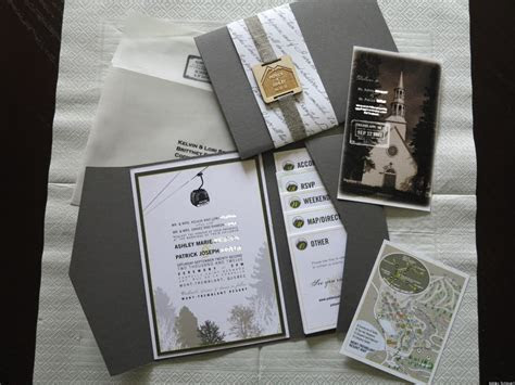 Wedding Invitation Ideas From Real Weddings (PHOTOS