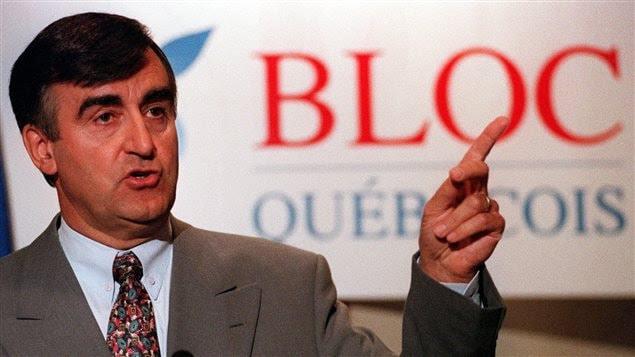 En 1993, Lucien Bouchard était chef du Bloc québécois.
