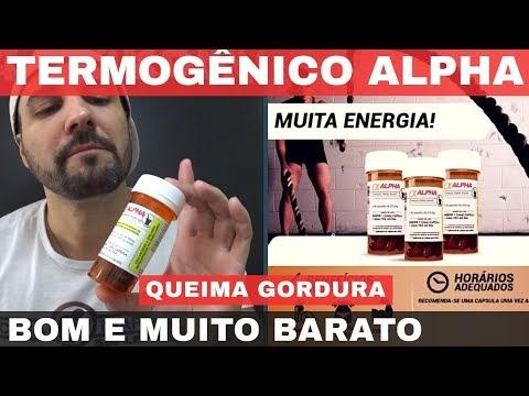 ALPHA AXCELL SANIBRAS TERMOGÊNICO MUITO BOM E MUITO BARATO A BASE DE CAFEÍNA ANIDRA