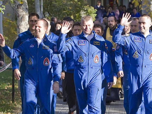 Soyuz lançamento Cazaquistão (Foto: Shamil Zhumatov/Reuters)