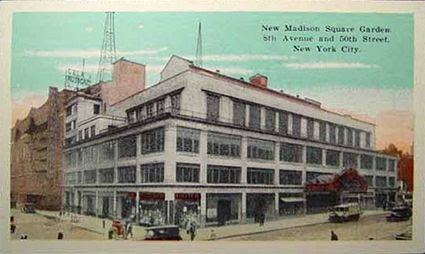 Madison Square Garden 1925, Madison Square Garden 1925