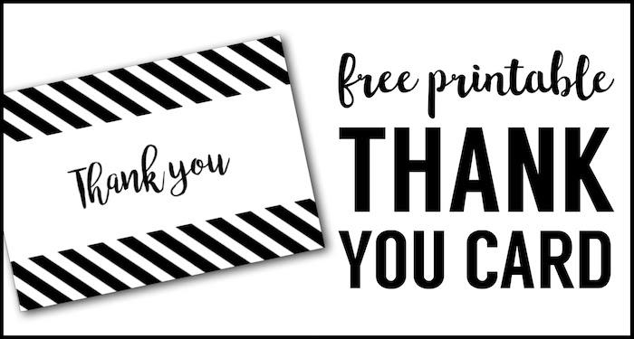 Free Printable Teacher Thank You Cards Ideas Paper Trail Design