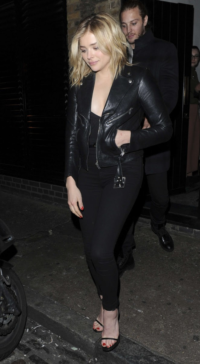 Chloe Moretz: Leaves the Chiltern Firehouse -01