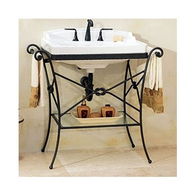 St Thomas Creations Granada Console Table with Neo - Venetian ...