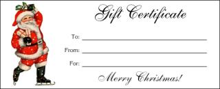 AltogetherChristmas.com: Printable Gift Certificates