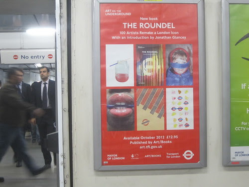 The Roundel Poster at Holborn Tube