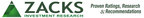 ZACKS INVESTMENT RESEARCH LOGO  Zacks Investment Research, Inc., www.zacks.com.  (PRNewsFoto/Zacks Investment Research) CHICAGO, IL UNITED STATES