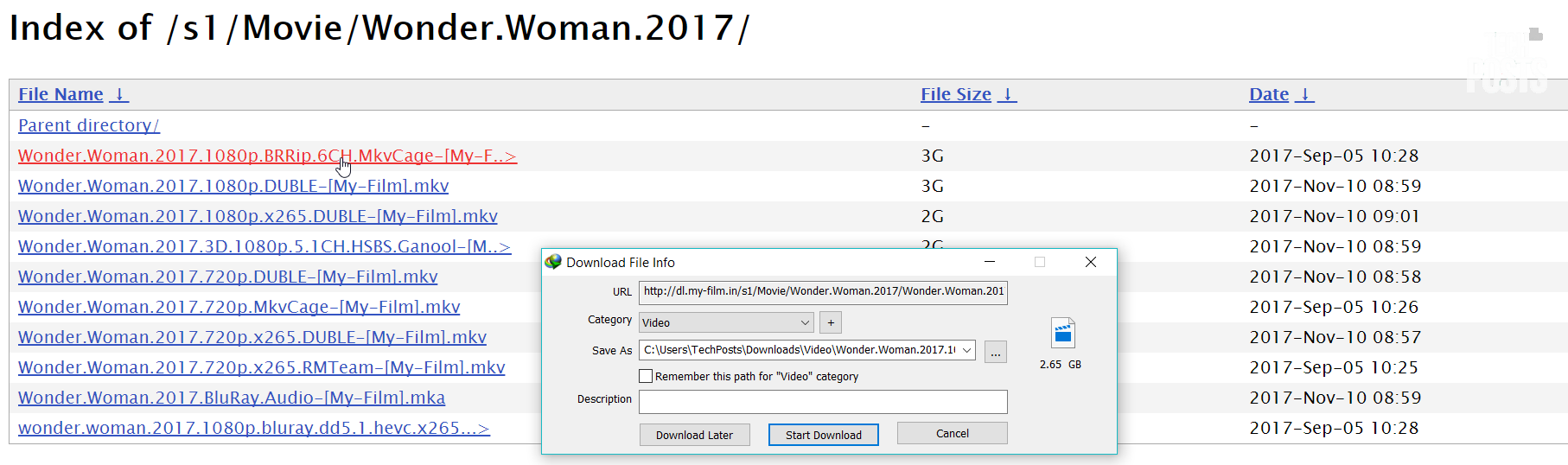 Index of _s1_Movie_Wonder.Woman.2017 Downloading