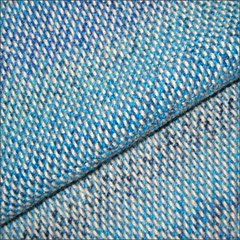 Deep Blue Sea Shawl, close up