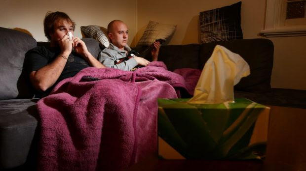 Man flu: They might not be faking it.