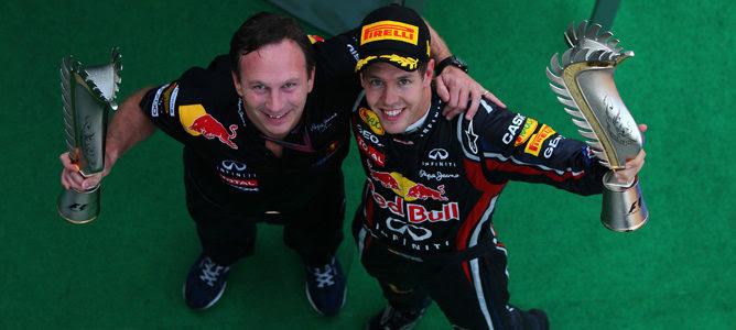 Vettel Horner campeones del mundo 2011