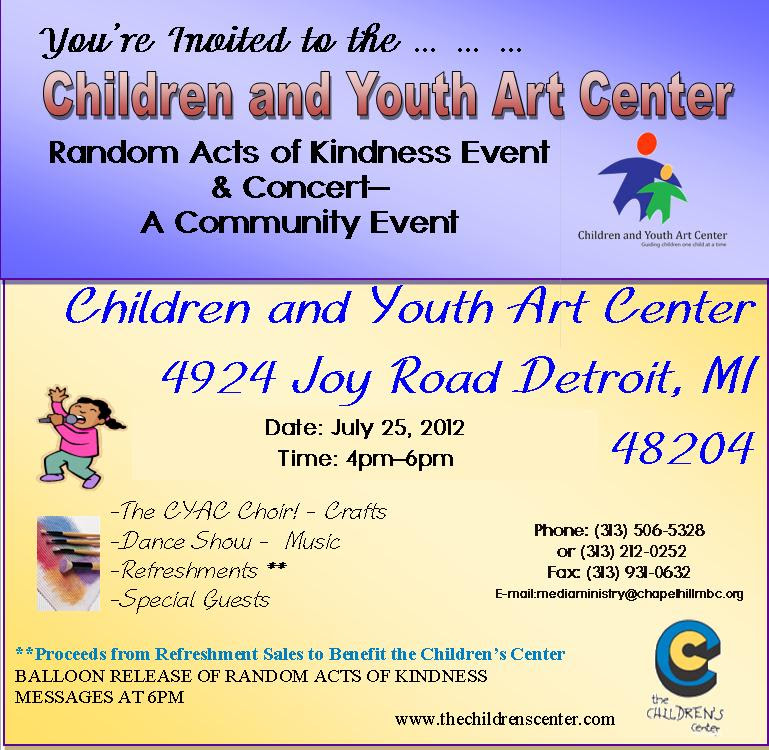Random Acts of Kindness Concert