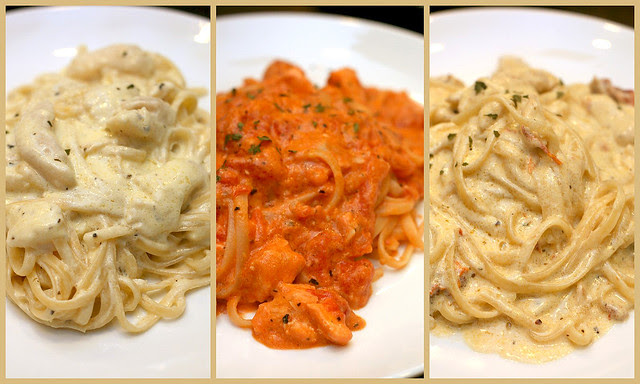 Pastas from Muffet's Room