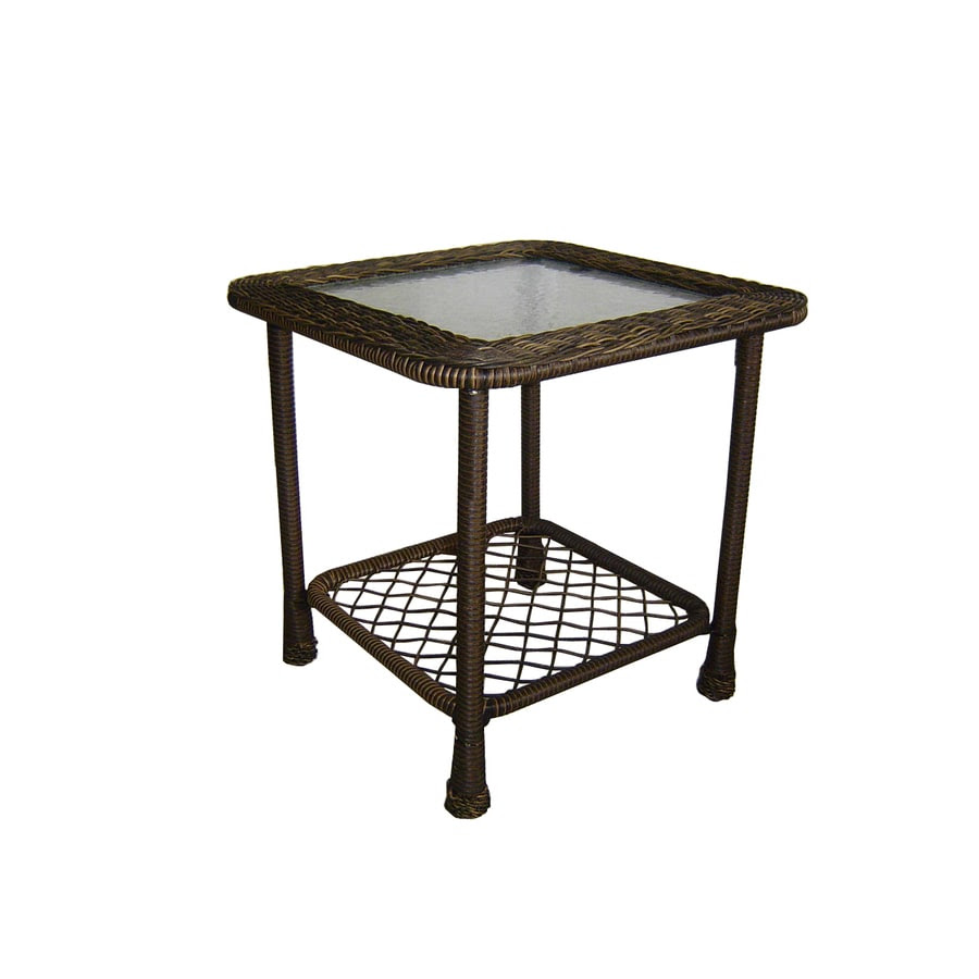 Shop Garden Treasures Severson Square End Table at Lowes.com