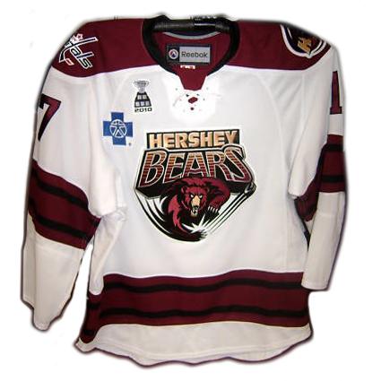 2009-10 Hershey Bears Chris Bourque jersey