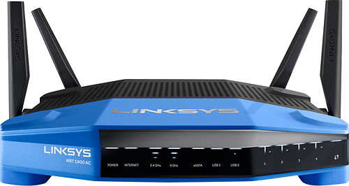 Linksys - Smart Wi-Fi Dual-Band Wireless-AC Router