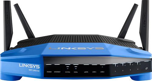 Linksys - Smart Wi-Fi Dual-Band Wireless-AC Router