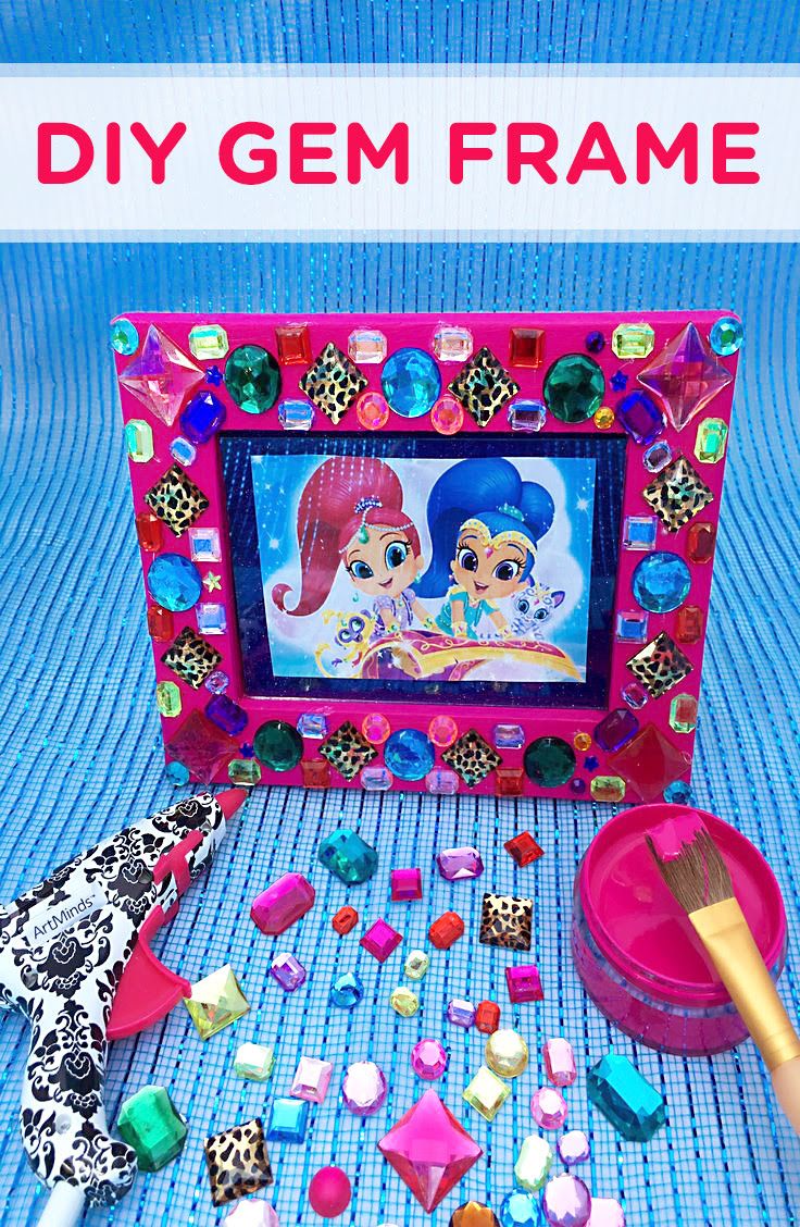 Shimmer And Shine Gem Frame Craft Nickelodeon Parents