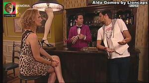 Alda Gomes sensual na serie Hotel 5 estrelas