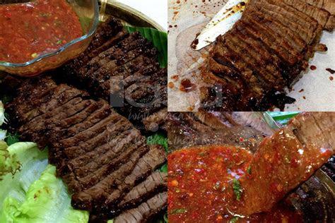 daging bakar sos pencicah ala dannok thai rasa