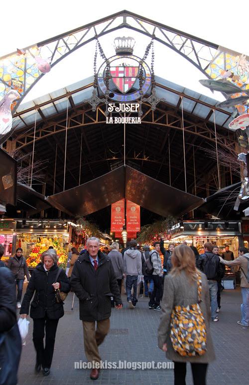 la boqueria market place