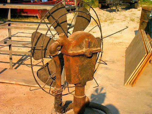Water powered fan 2