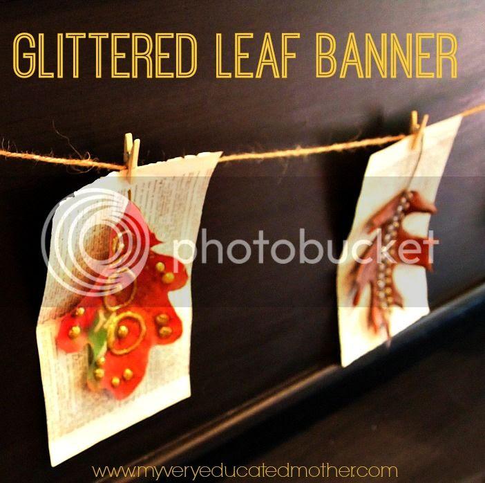 #adtechHOA #fall #banner #glitter #hotglueprojects