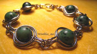 twice around the world (TAW) wire wrap bracelet