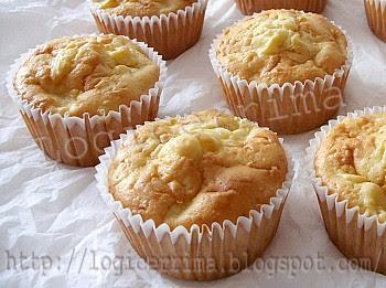 [ Muffins alle Mele senza Burro alla Panna ]