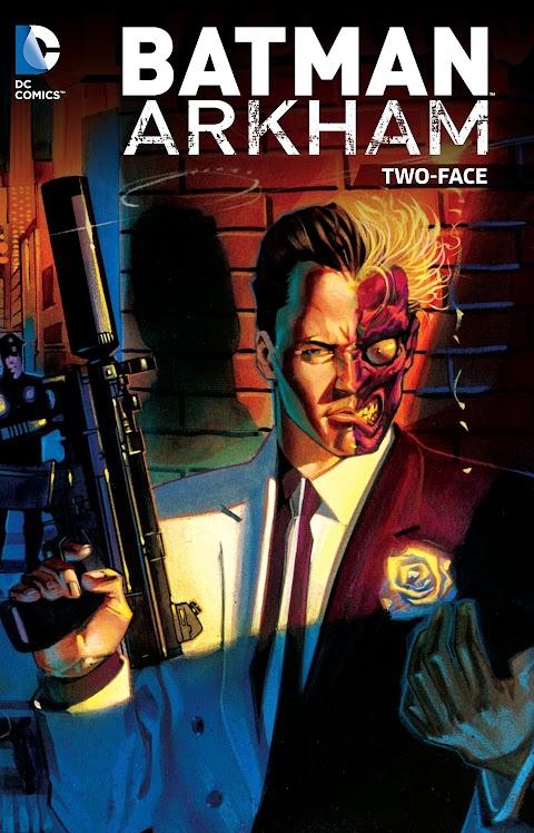 Batman Arkham Two Face Comic