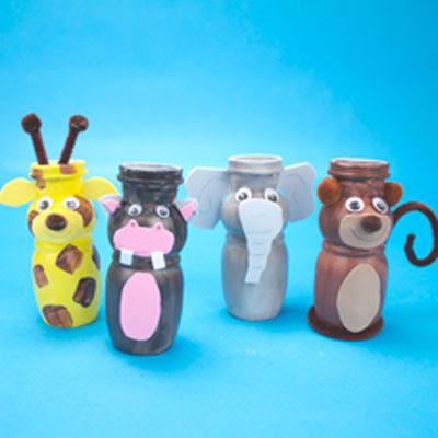 como fazer bichinhos embalagem iogurte reciclagem atividade escola crianca (4)