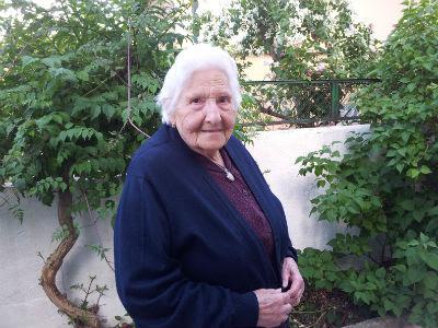 Teofila Herreruelo en su casa en la colonia del Manzanares.PC