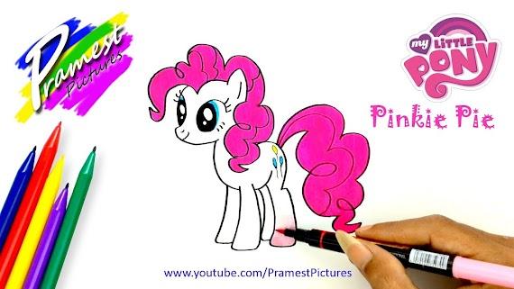 [Bisa diprint] Mewarnai Gambar Kuda Pony