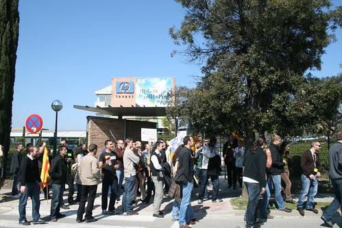 1ª Manifestación contra los injustos despidos masivos: HP / Teamlog / Groupe Open