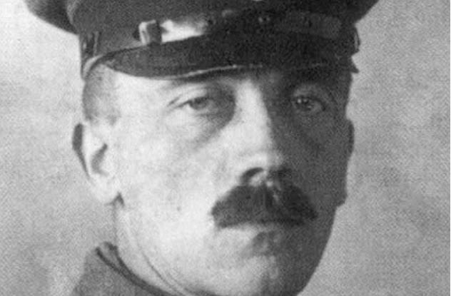 Një sulm në Luftën e Parë Botërore Adolf HItleri