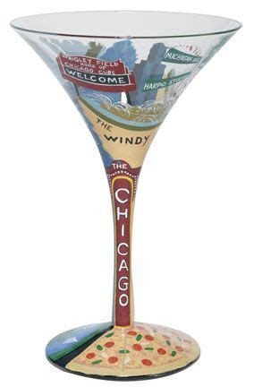 Chicago tini Martini Glass by Lolita   Lolita® Martini