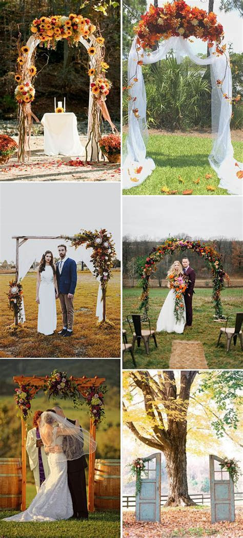 Fall In Love With These 50  Great Fall Wedding Ideas