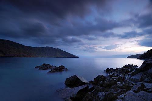 Nagsasa Cove: Twilight's Fading Colors