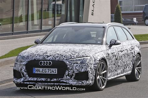 audi rs  spied    ring quattroworld