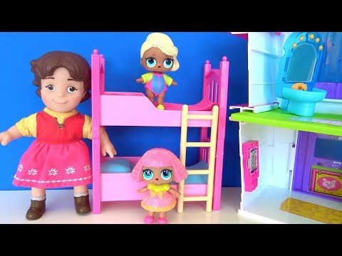 Lol Bebek Ranzadan Iniyor Lol Bebek Sürpriz Yumurta Piyano çalıyor