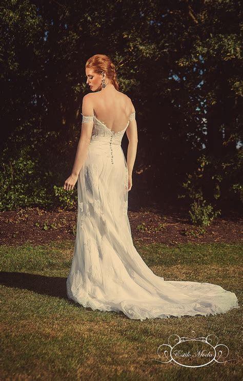 Olivia   Sexy Corset Bodice Wedding Dress